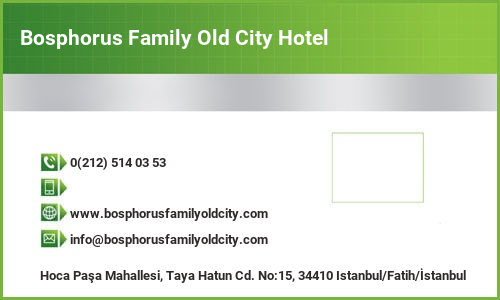 Bosphorus Family Old City Hotel