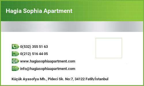 Hagia Sophia Apartment