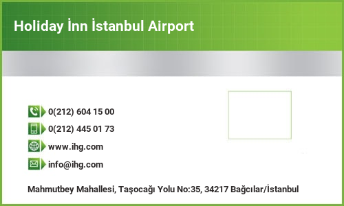 Holiday İnn İstanbul Airport