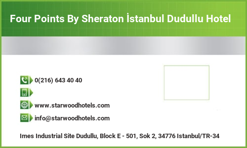 Four Points By Sheraton İstanbul Dudullu Hotel