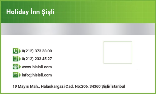 Holiday İnn Şişli