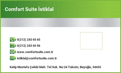 Comfort Suite İstiklal