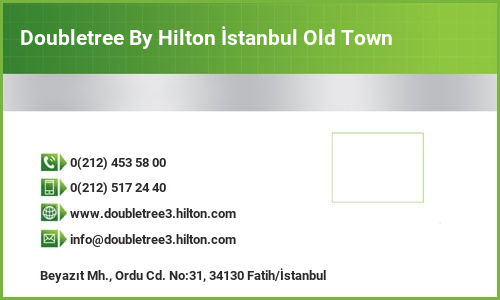 Doubletree By Hilton İstanbul Old Town
