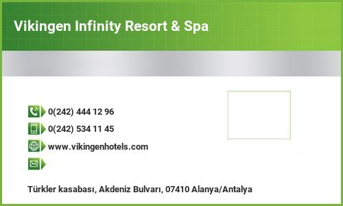 Vikingen Infinity Resort & Spa Adres ve İletişim Bilgileri