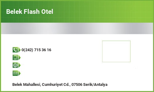 Belek Flash Otel