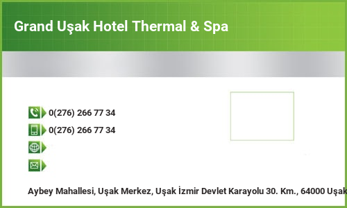 Grand Uşak Hotel Thermal & Spa