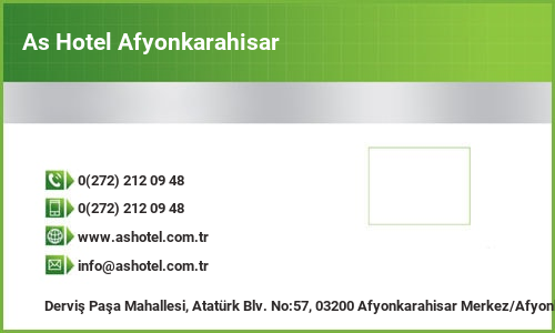 As Hotel Afyonkarahisar