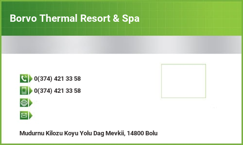 Borvo Thermal Resort & Spa