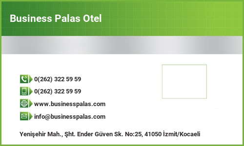 Business Palas Otel