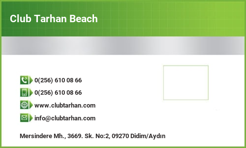 Club Tarhan Beach