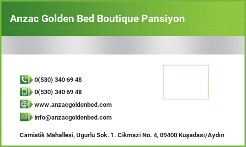 Anzac Golden Bed Boutique Pansiyon