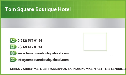 Tom Square Boutique Hotel