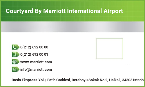 Courtyard By Marriott İnternational Airport